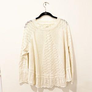 Anthropologie sweater shawl